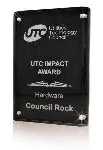 Council Wins Utilities Technology Council Impact Award for Hardware