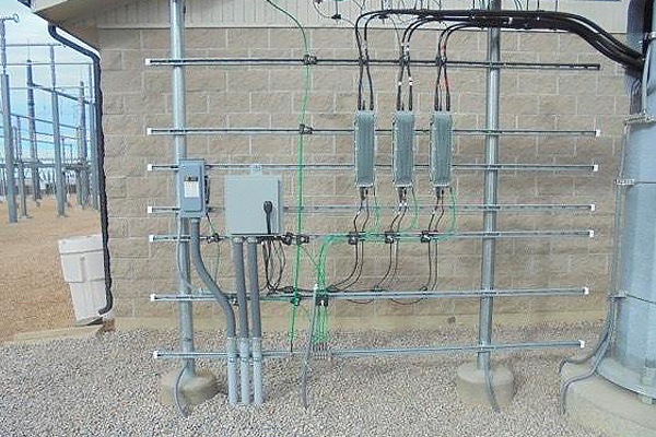 Power systems design substation