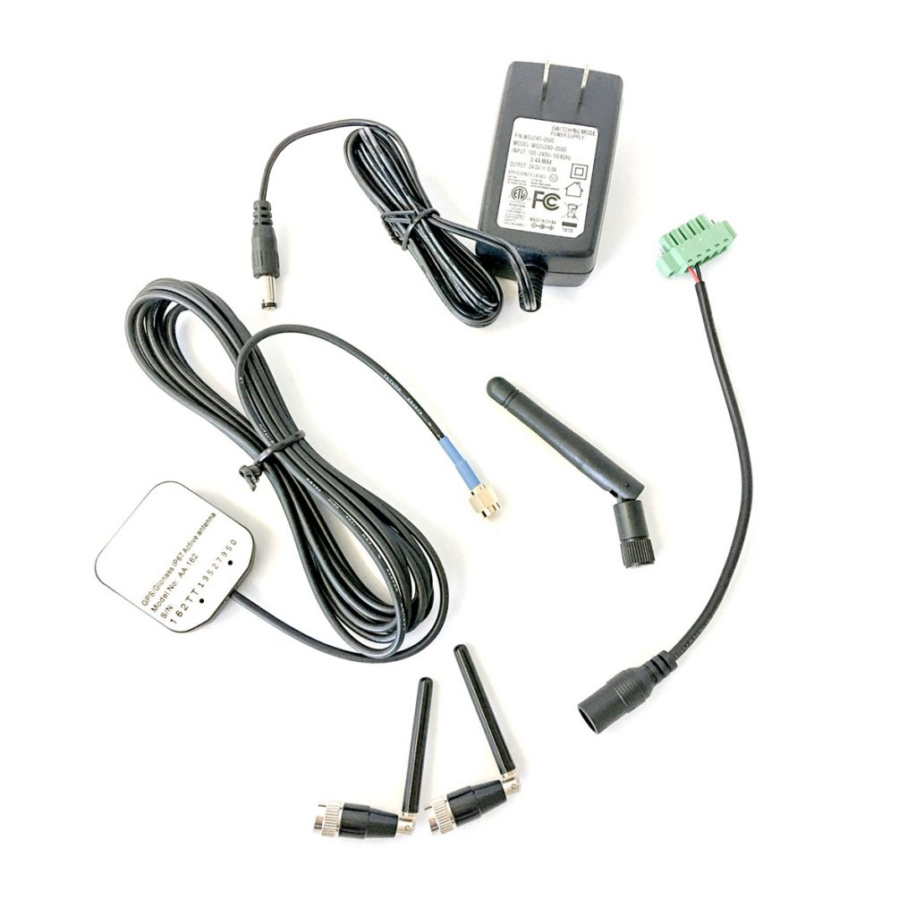 Lab antenna kit accessories come bundled with the CBRS package