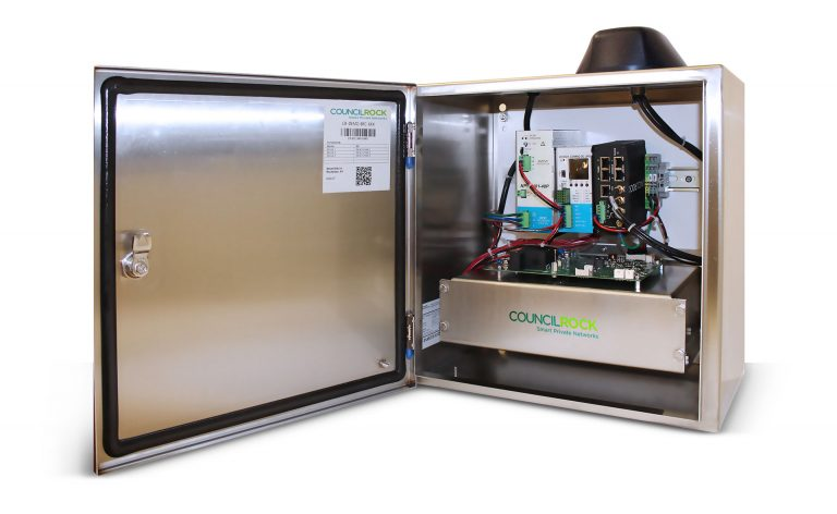 Custom engineered rapid deployment communications prototype cabinet