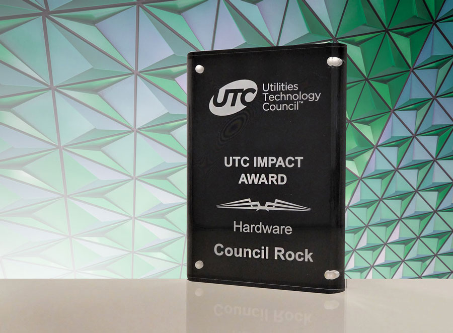 UTC-Award for Council Rock